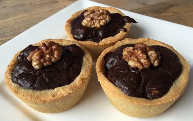 Wednesday Challenge: Chocolade noten taartjes