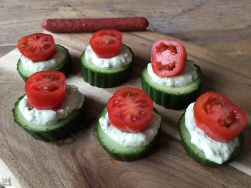 Komkommertorentjes