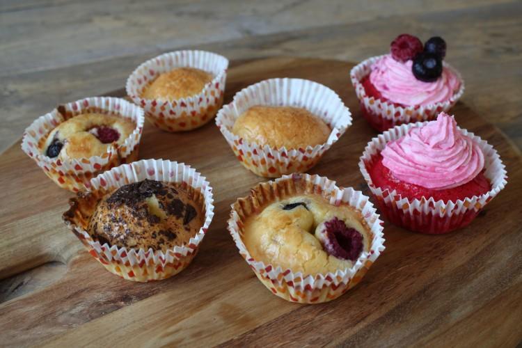 Zachte fluffy cupcakes en Red Velvets!
