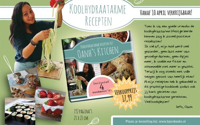 Lancering Kookboek: Koolhydraatarme recepten uit Oanh's Kitchen!