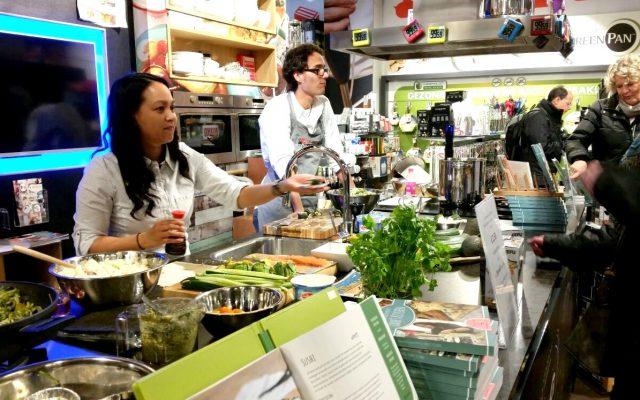 VLOG: Kookdemo in Kookwinkel Habitas in De Markthal Rotterdam
