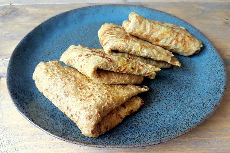 Koolhydraatarme en glutenvrije Roti bladen!