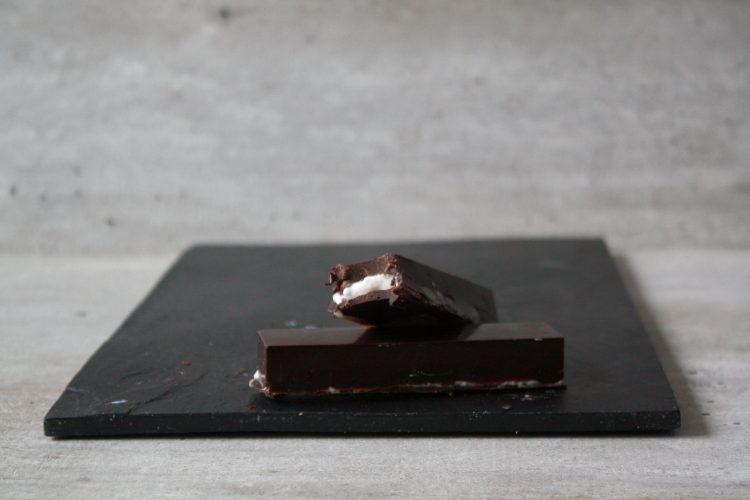 Chocoladerepen met Marshmallow vulling!