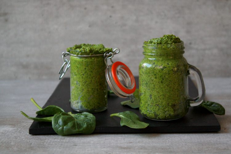 Spinazie Pesto!
