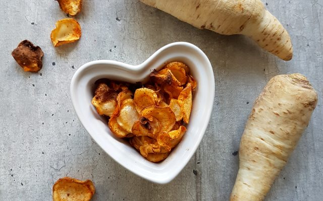 Wortelpeterselie paprika chips!