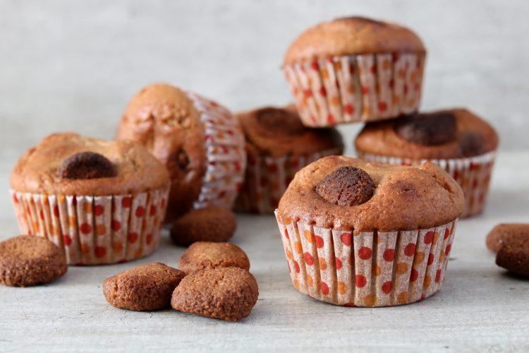 """Koolhydraatarme, glutenvrije en suikervrije """"pepernoten"""" muffins!"""