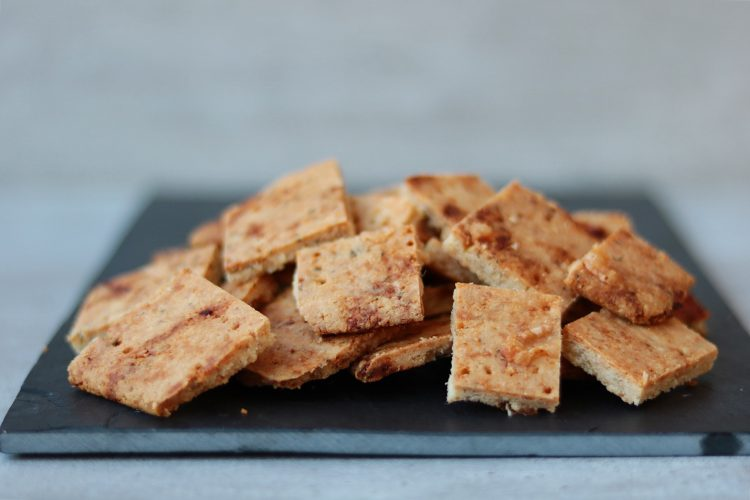 Koolhydraatarme crackers met spice!