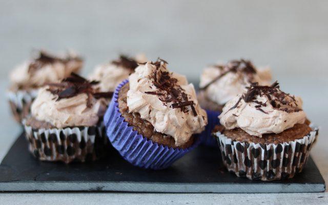 Koolhydraatarme mokka cupcakes!
