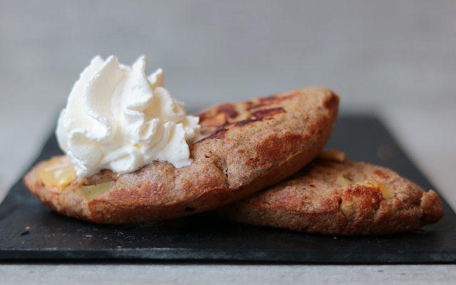 Appelgebak uit de omeletmaker!