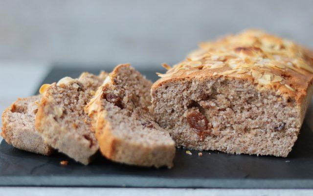 Koolhydraatbeperkt rozijnenbrood!