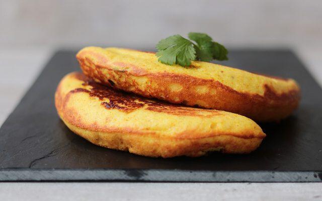 Hartige curry broodjes uit de omeletmaker!