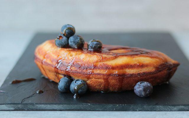 Blauwebessen cake!