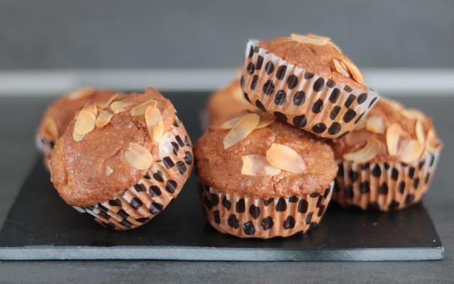 Koolhydraatarme pumpkin spice muffins!
