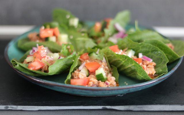 Thaise tonijnsalade