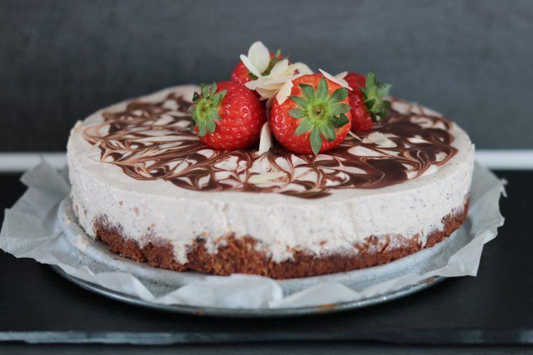 Koolhydraatarme mokka cheesecake!