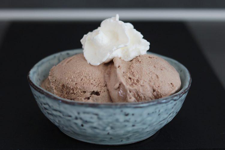 Koolhydraatarm en glutenvrije koffie/mokka ijs!
