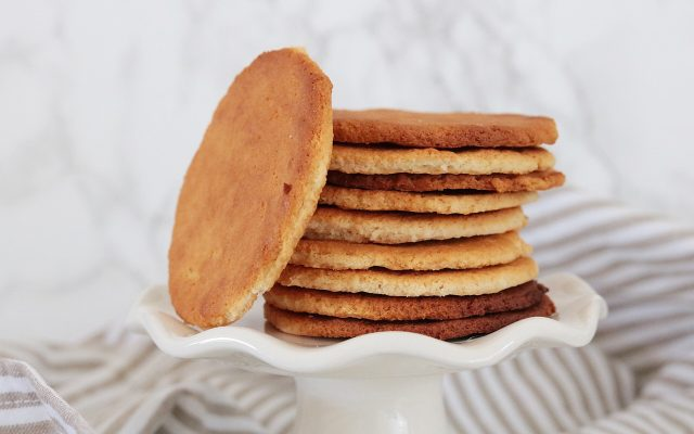 Koolhydraatarme en glutenvrije Maria biscuits!