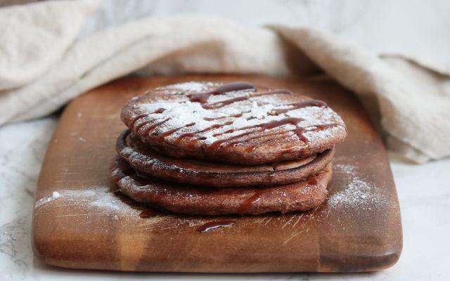Koolhydraatarme chocolade pannenkoekjes