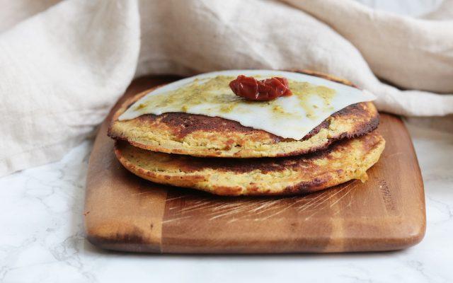 Italiaanse pesto broodjes